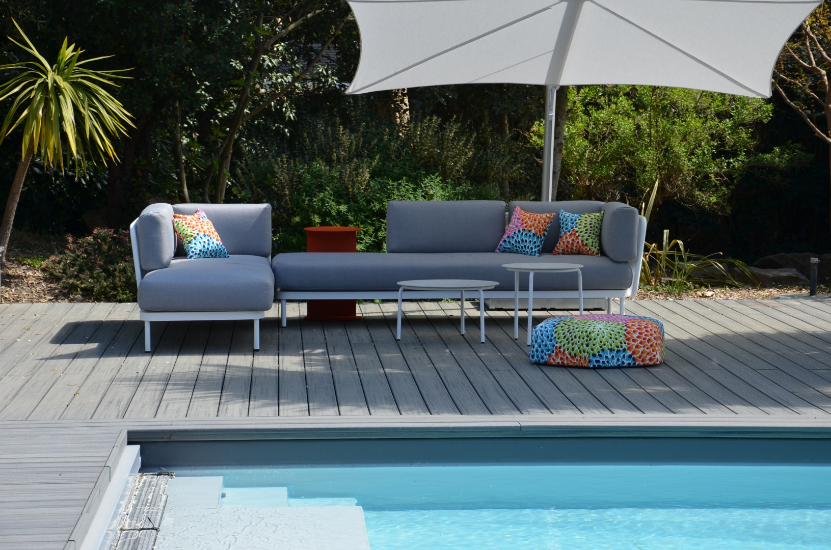 Home Spa Projekt TODUS Terrasse Baza Sofa